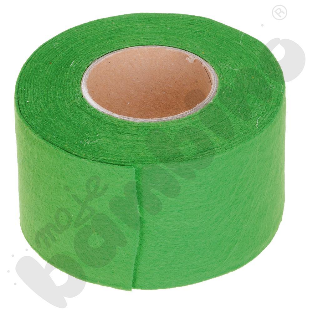 Taśma filcowa - zielona
