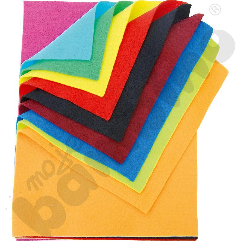 Filc kolorowy