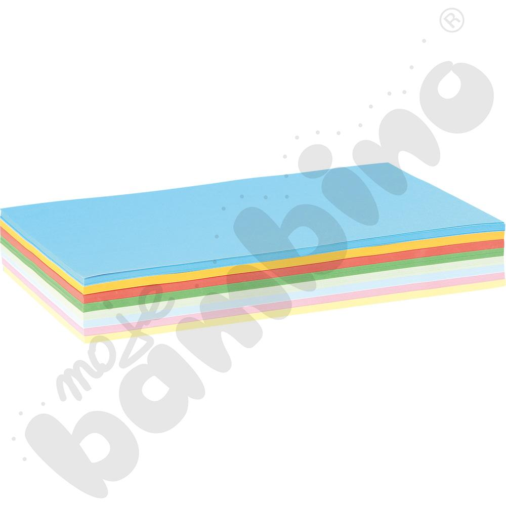 Wkład z kolorowego papieru rysunkowego A4