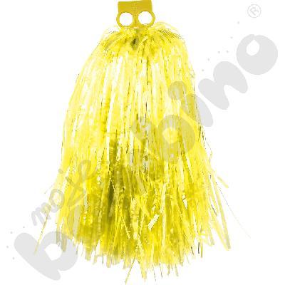 Pompon duży - żółty