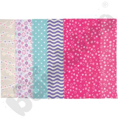 Filc - kolorowe wzory