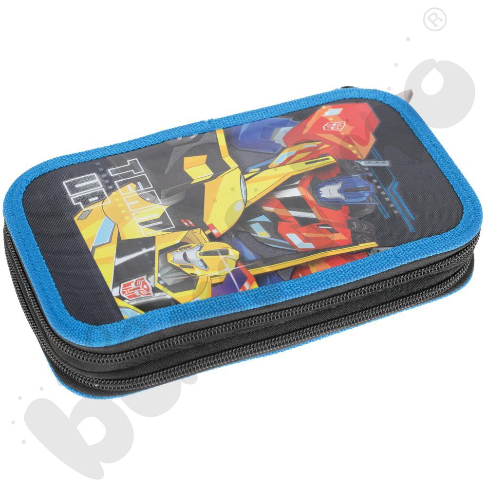 Piórnik z wyposażeniem Transformers
