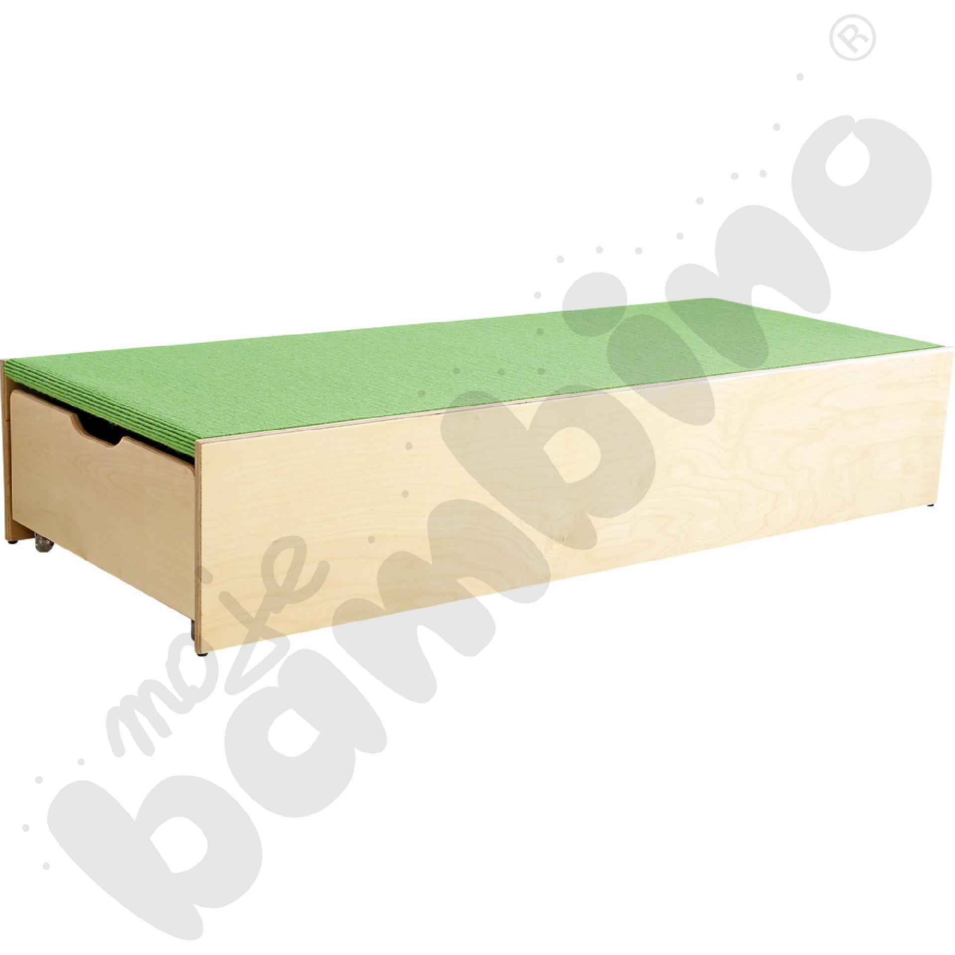 Podest z 2 szufladami po bokach