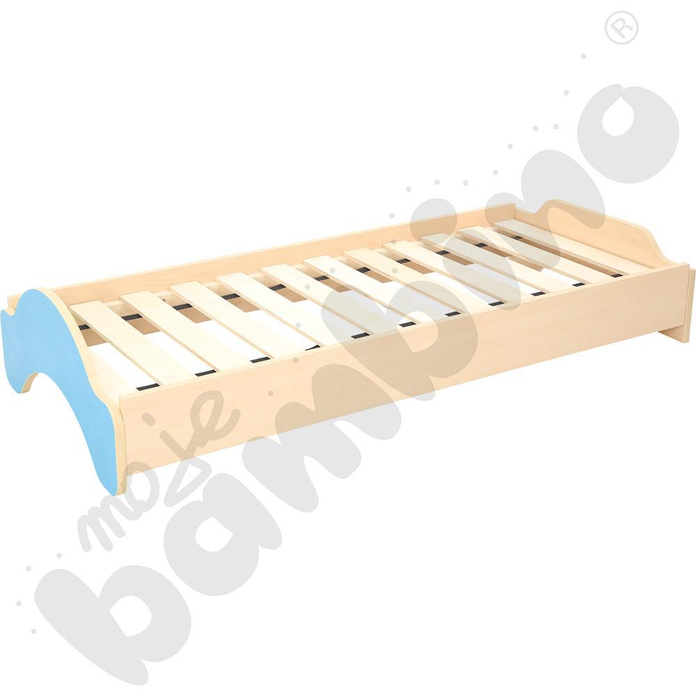Łóżeczko EKO - niebieskie