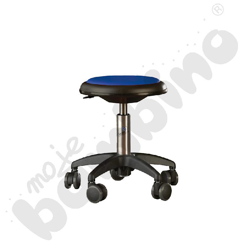 Krzesło Genito, wys. 30-38 cm - niebieskie