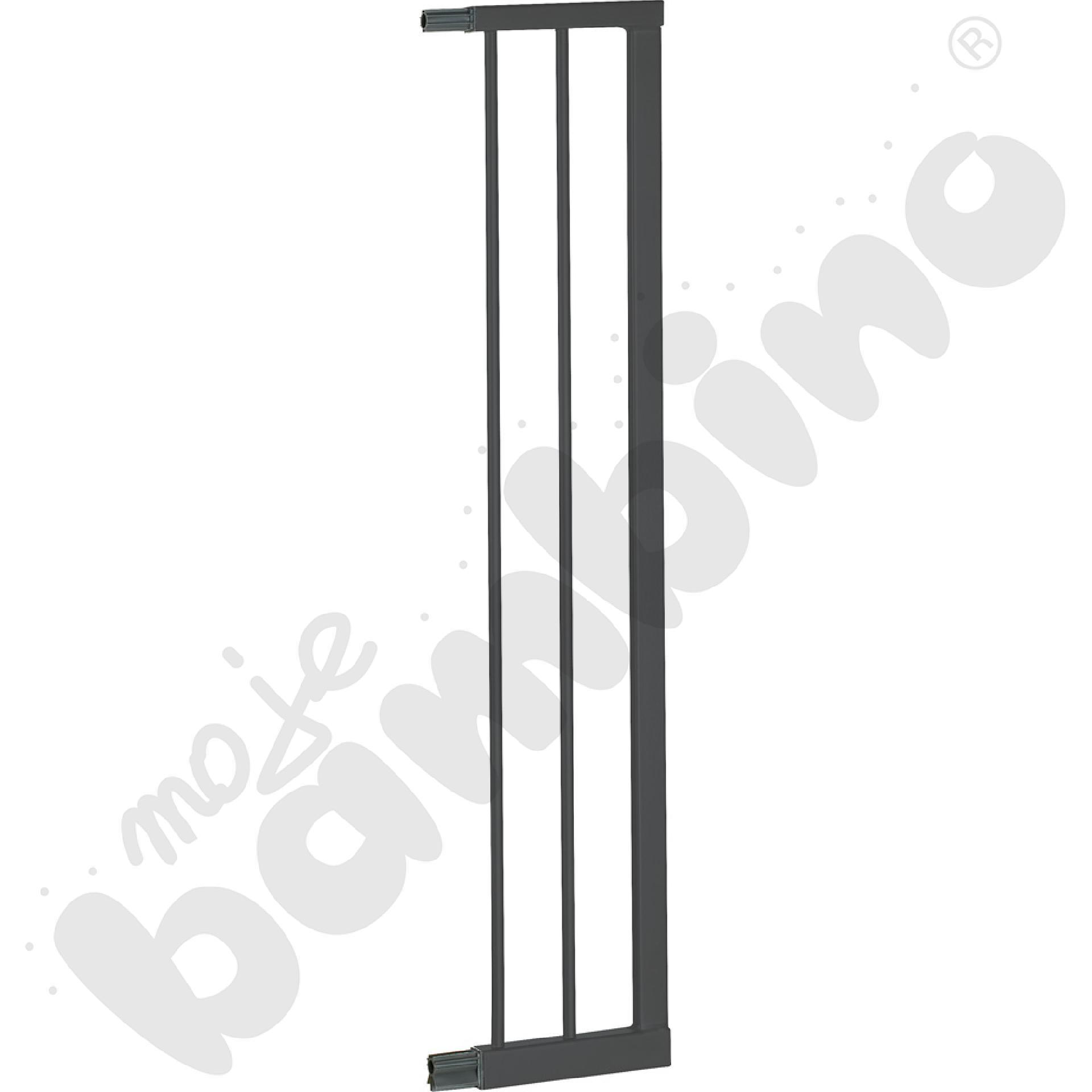 Przedłużka do bramki, szer. 16 cm, srebrna
