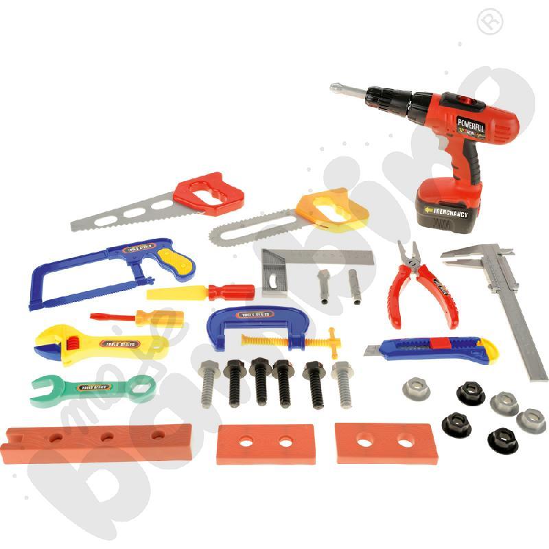 Duży zestaw narzędzi