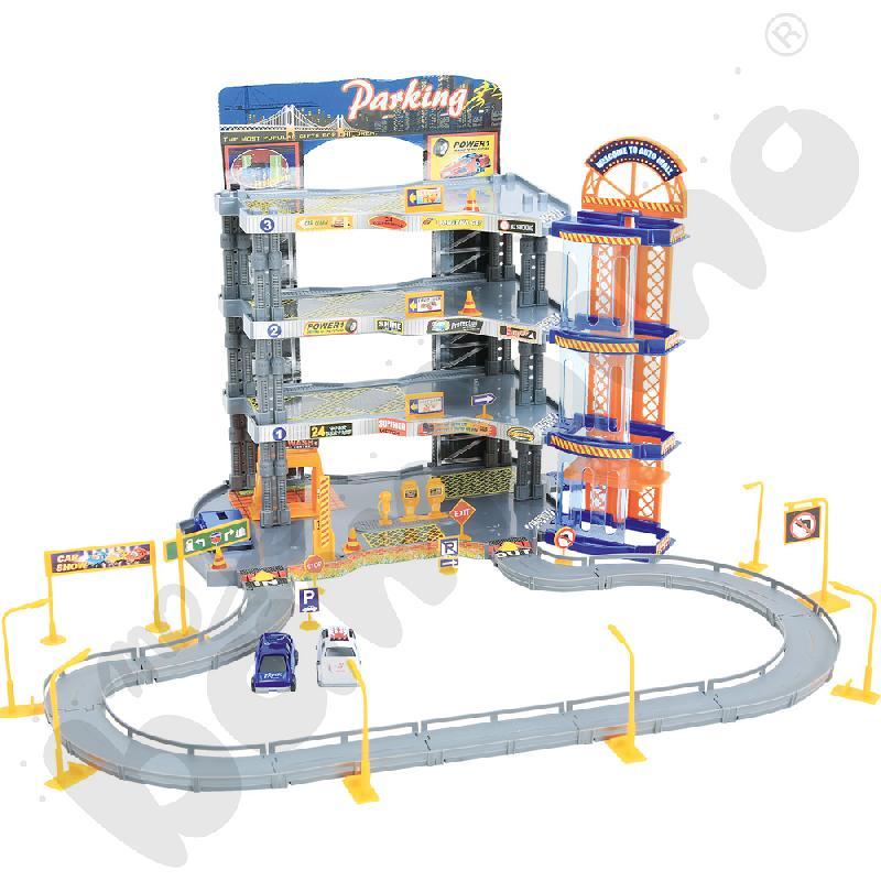 Supergaraż z 6 autami