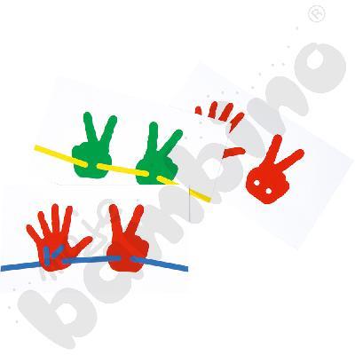 Karty zadań do dłoni przewlekanek