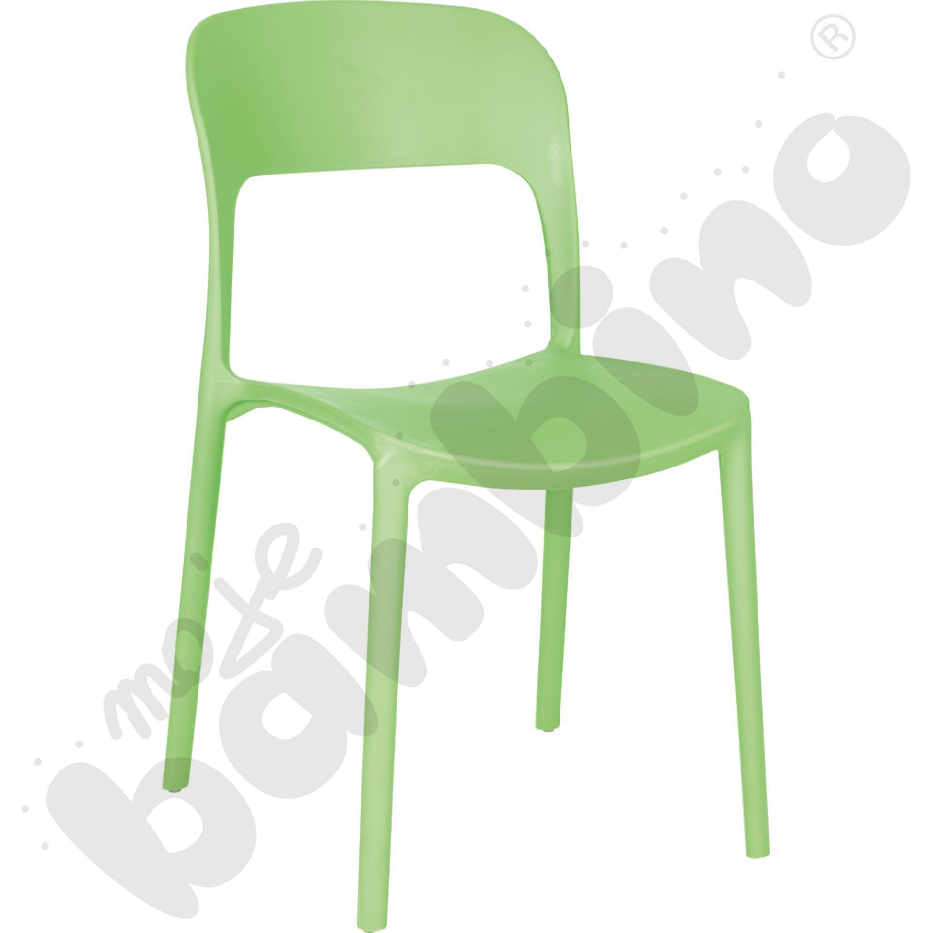 Krzesło Felix jasnozielone
