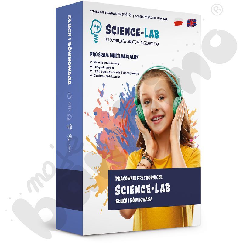 Science Lab: Zmysły – słuch...