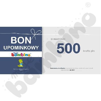 Bon upominkowy 500 zł