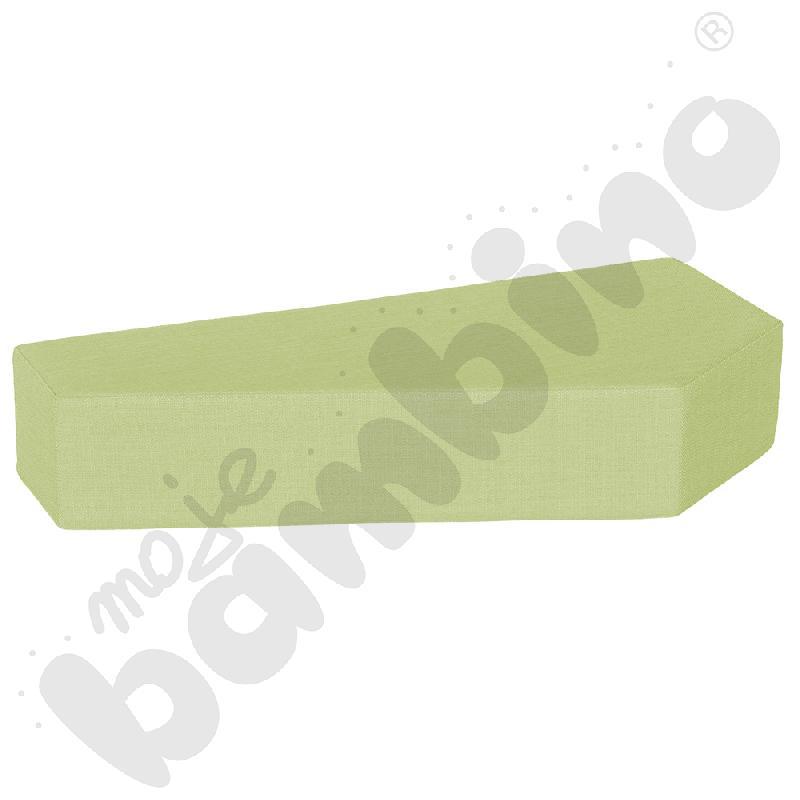 Materac Quadro 1 jasnozielony, wys. 15 cm