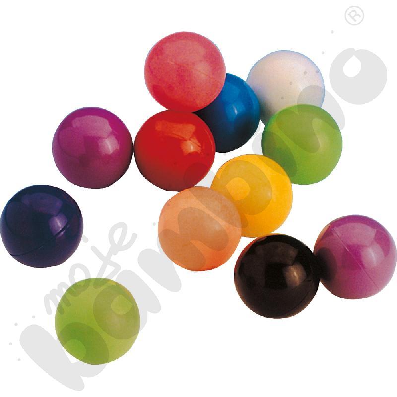 Magnetyczne kolorowe kuleczki