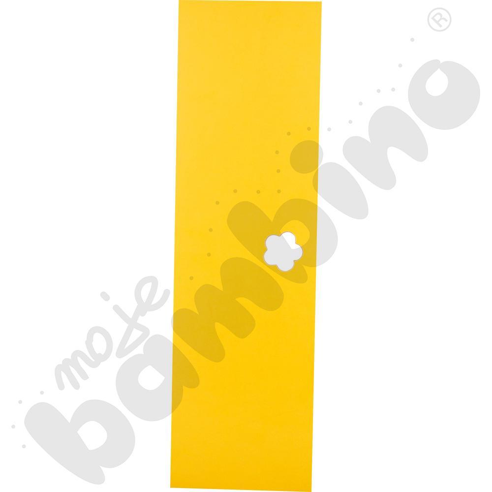Drzwiczki żółte do szatni...
