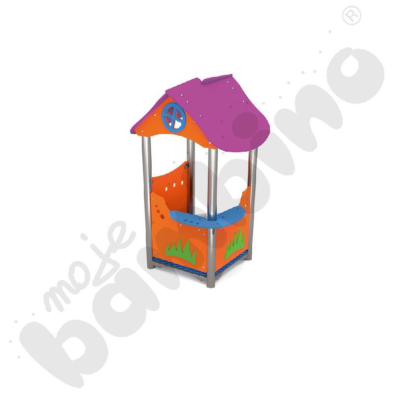 Domek z grą insGraf- fioletowy