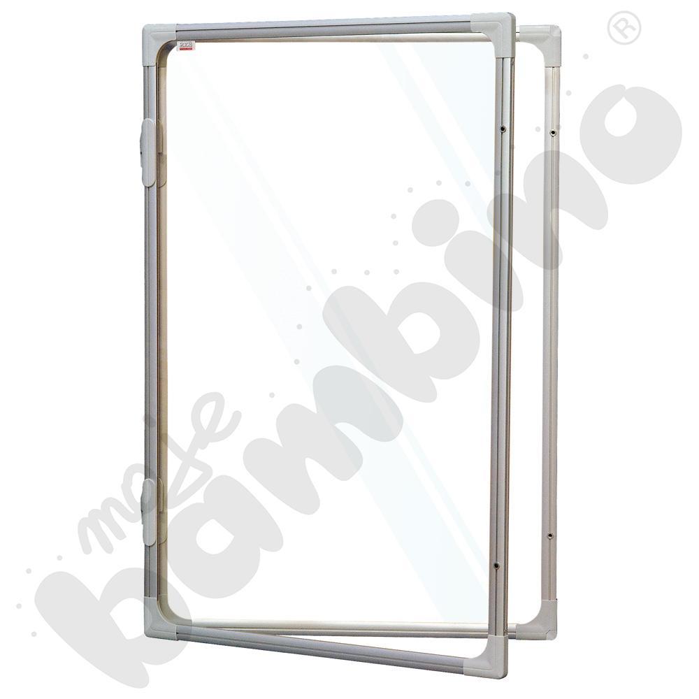 Gablota wewnętrzna otwierana na bok suchościeralno-magnetyczna 60 x 90 cm