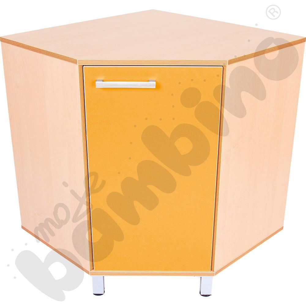 Szafka rogowa Premium - pomarańczowa
