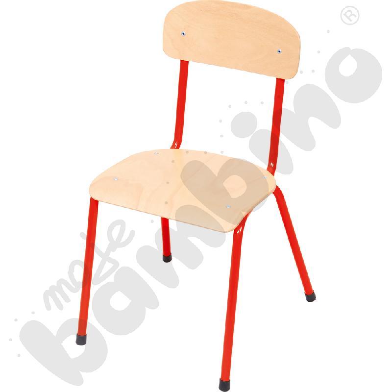 Krzesło Bambino rozm. 3 czerwone