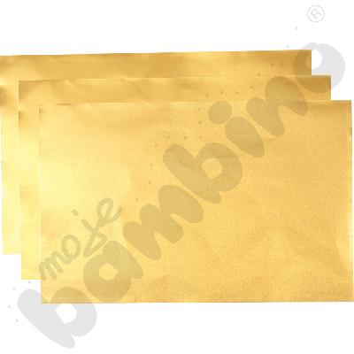 Folia metalizowana złota