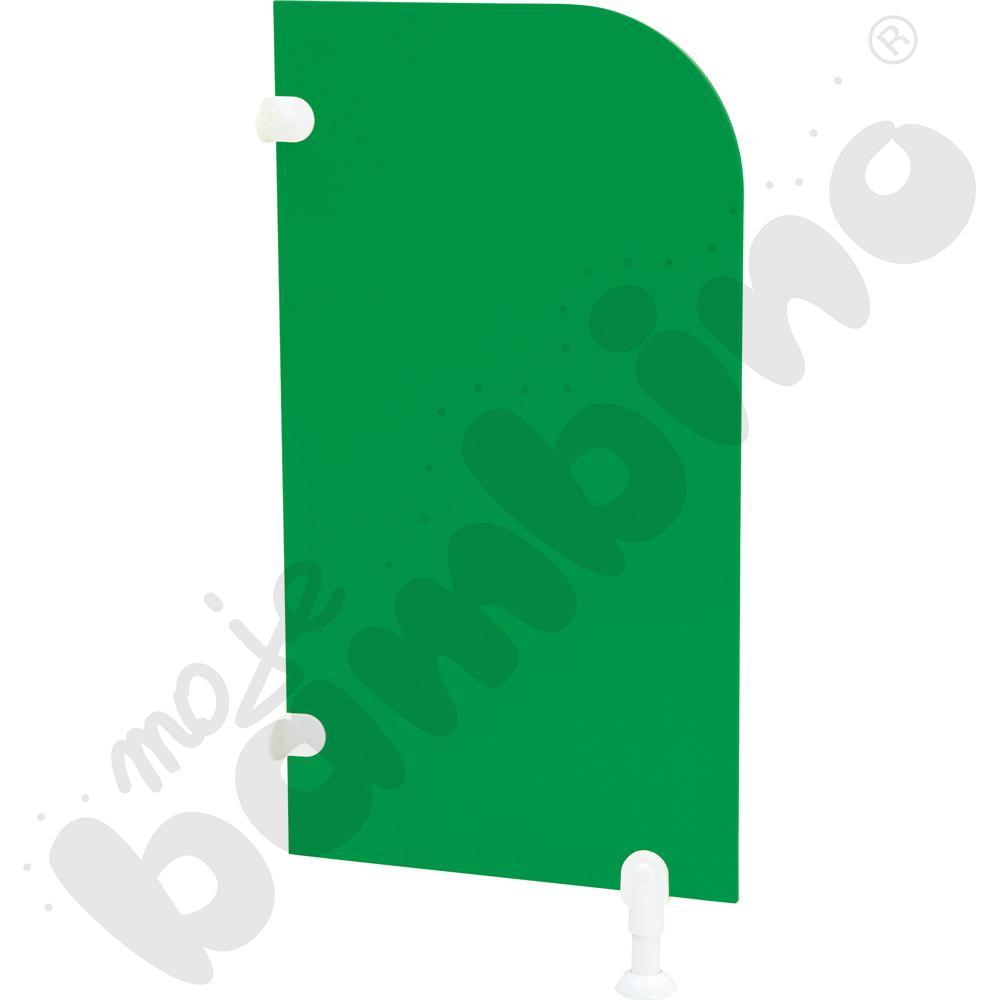 Ścianka działowa do WC - zielona