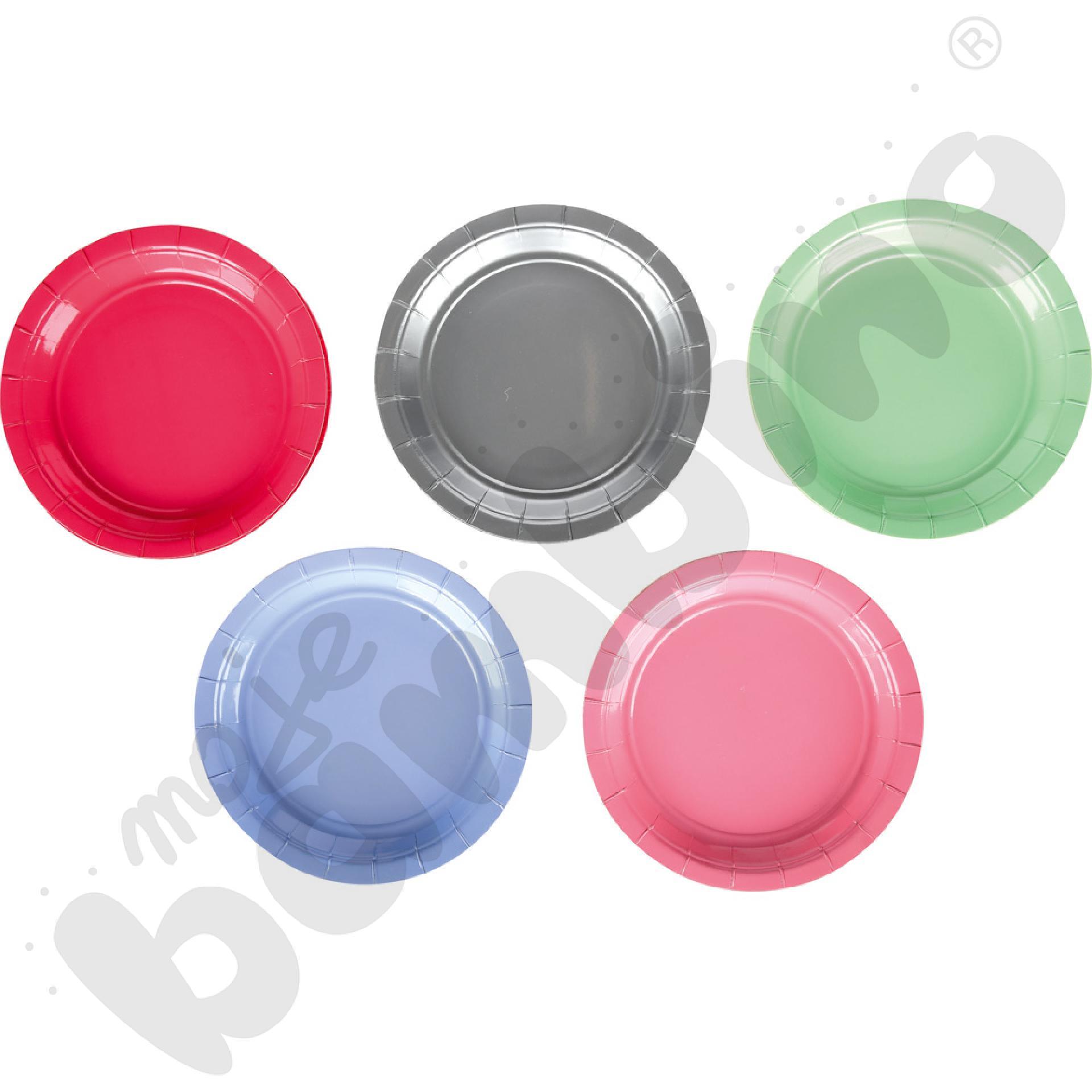 Kolorowe talerzyki...