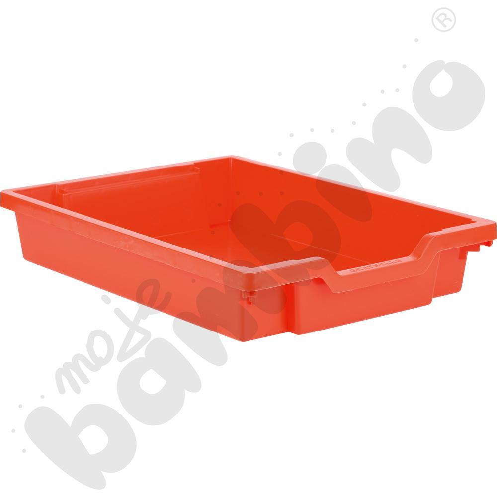Pojemnik płytki 1 - czerwony