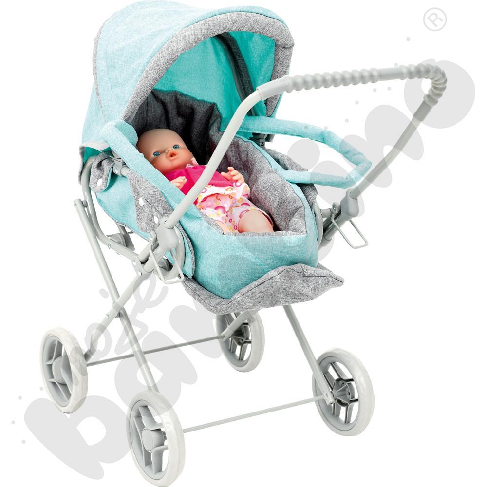 Wózek z lalką - zestaw Amelii