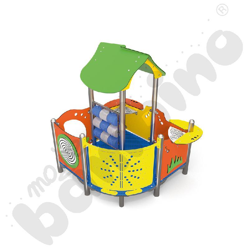 Pałac zabaw insGraf- żółty