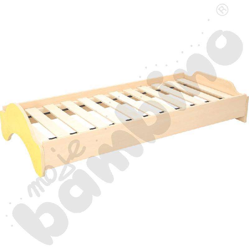 Łóżeczko EKO - żółte