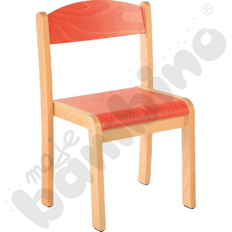 Krzesło Filipek rozm. 1 pomarańczowe