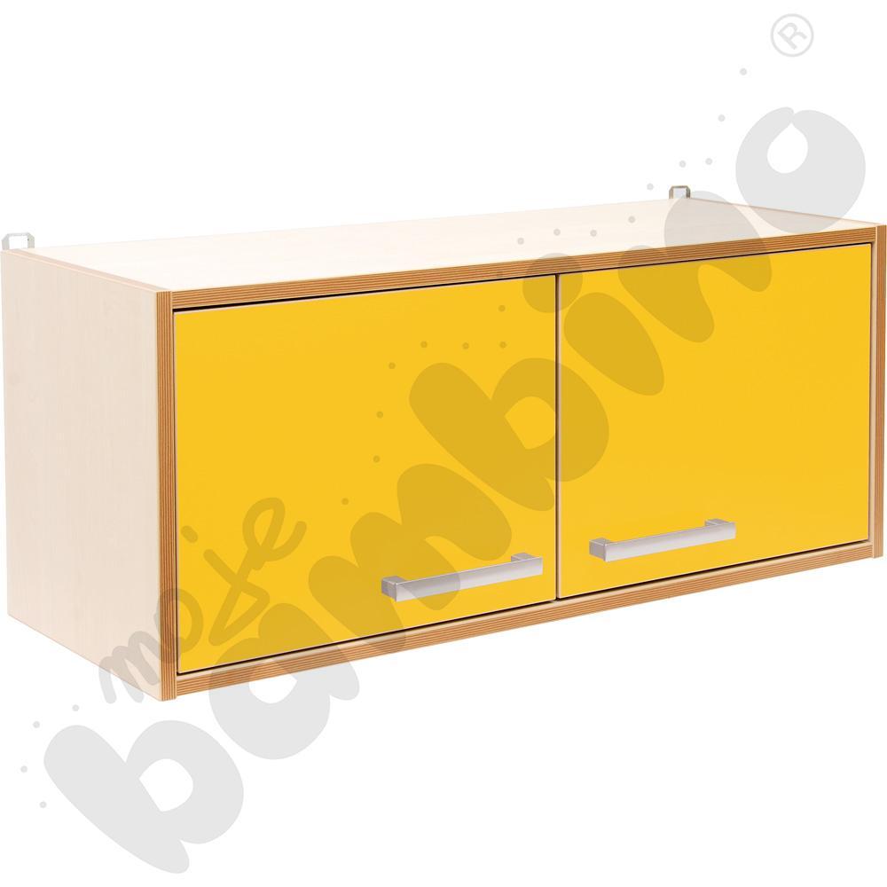 Drzwiczki do szafki wiszącej Premium - żółte