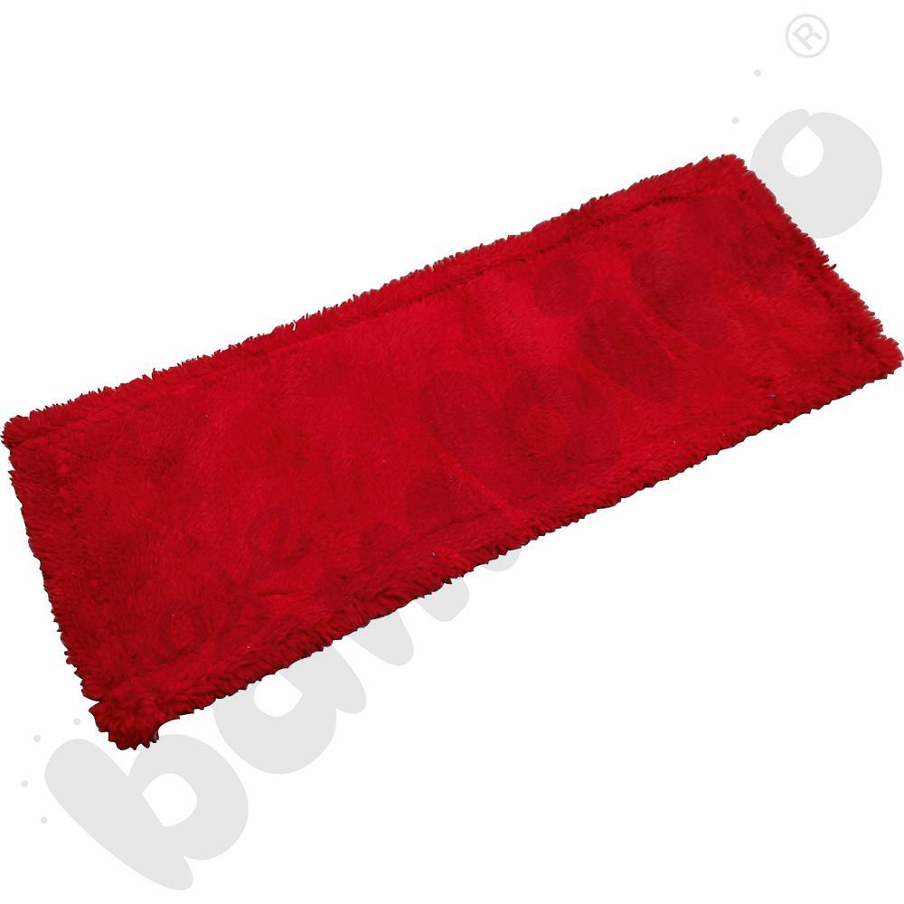 Nakładka do mopa biało-czerwona 40 cm