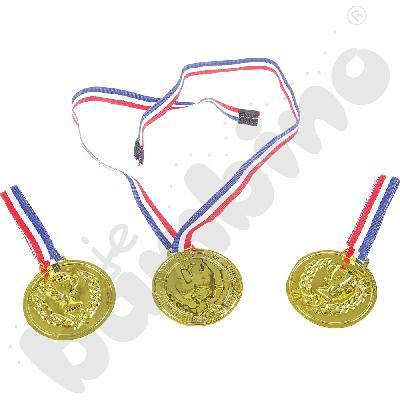 Medale - zestaw
