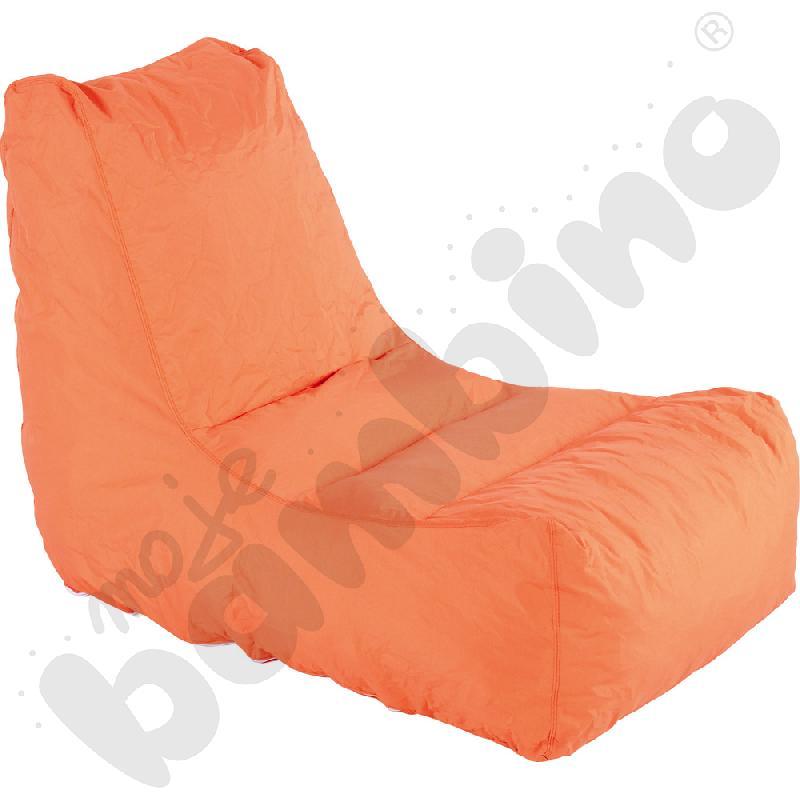 Fotel pomarańczowy