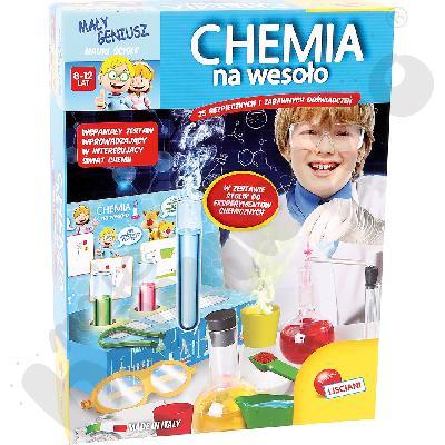 Chemia na wesoło - zestaw do eksperymentów