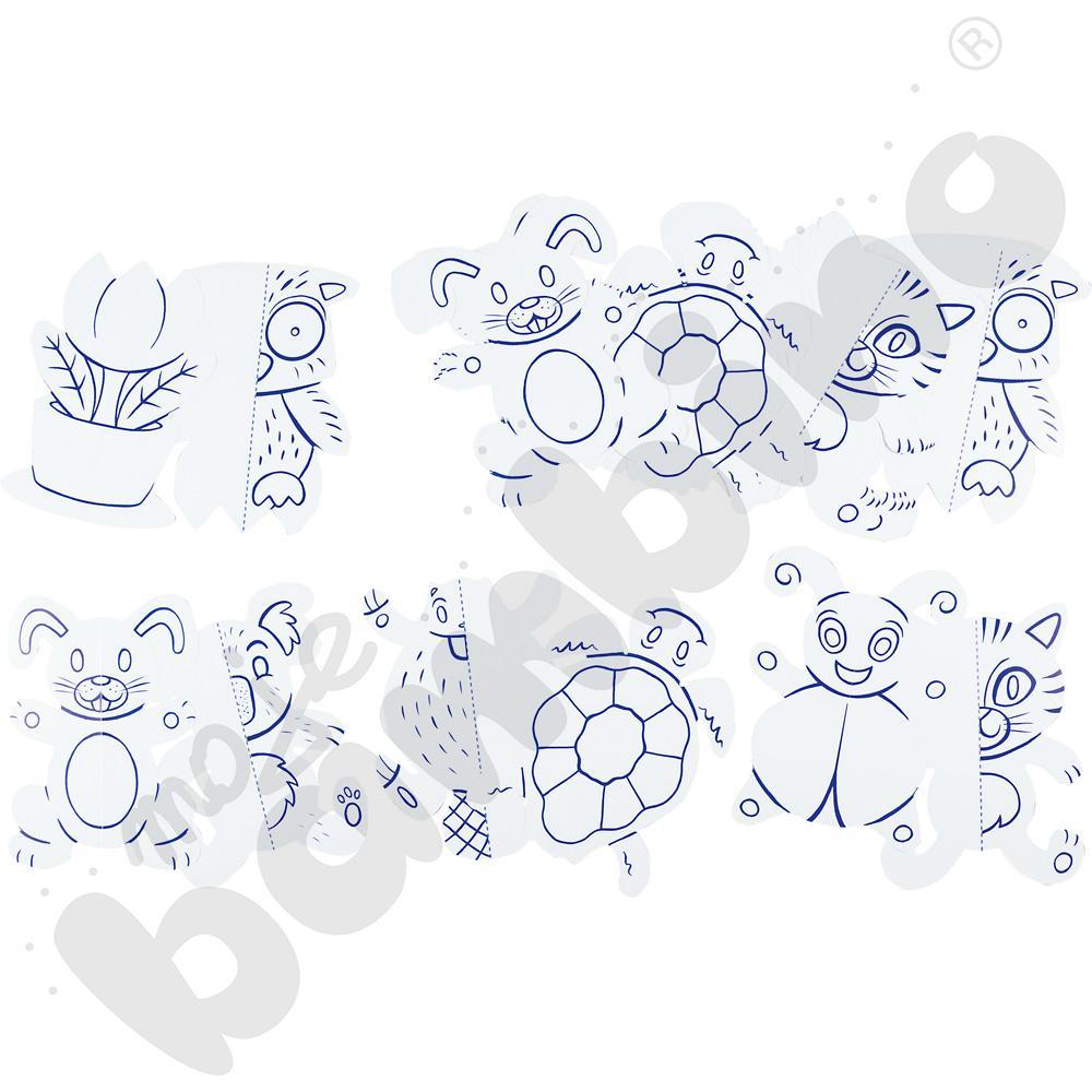 Symetryczne kształty