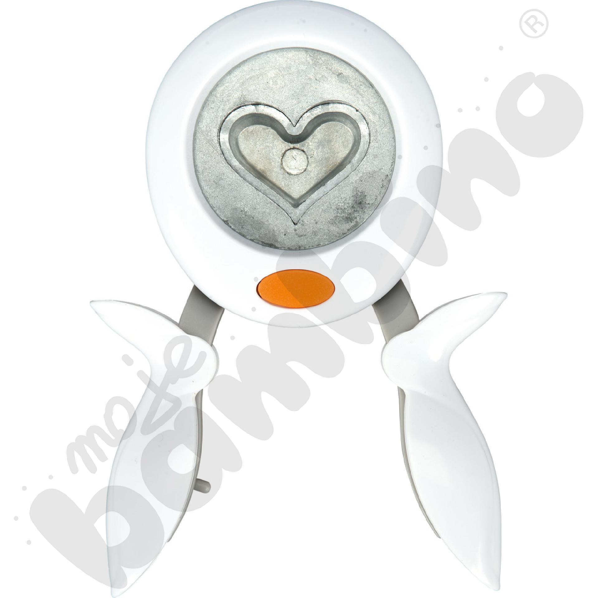 Dziurkacz obrotowy - serce