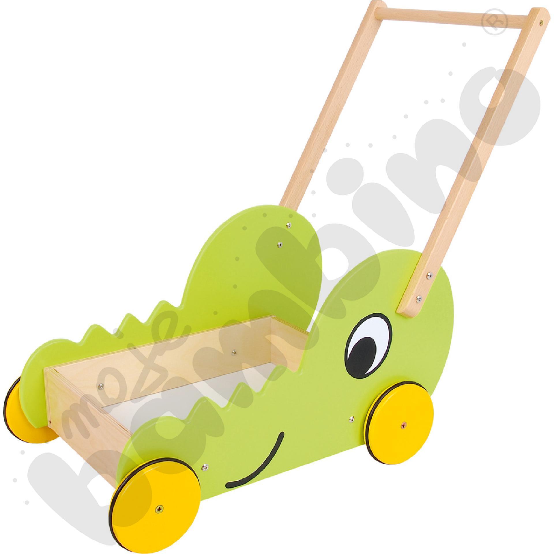 Wózek - krokodyl