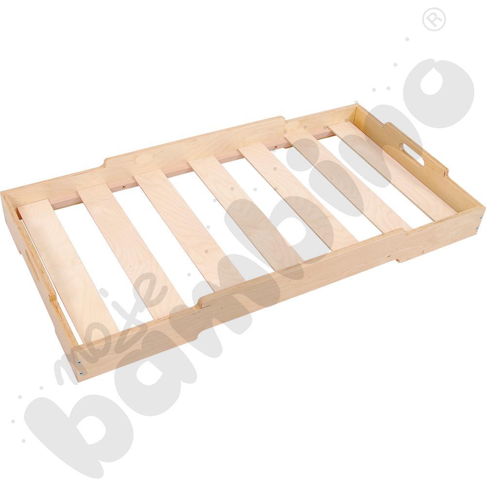 Łóżeczko przedszkolne drewniane