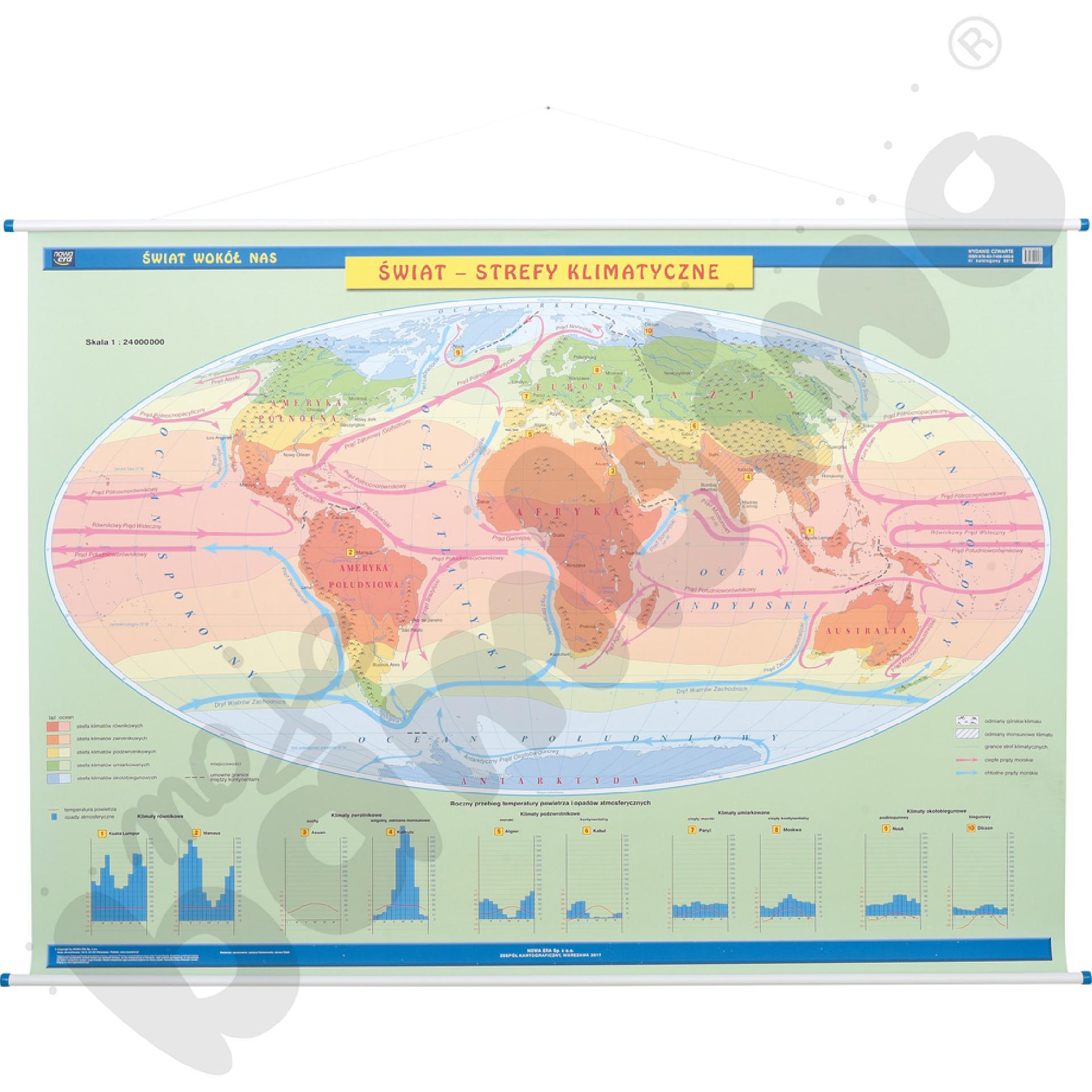 Krajobrazy świata - mapa