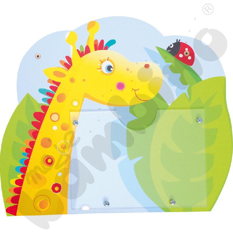 Tabliczka Żyrafa