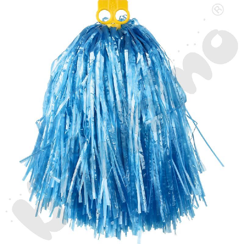 Pompon duży - niebieski