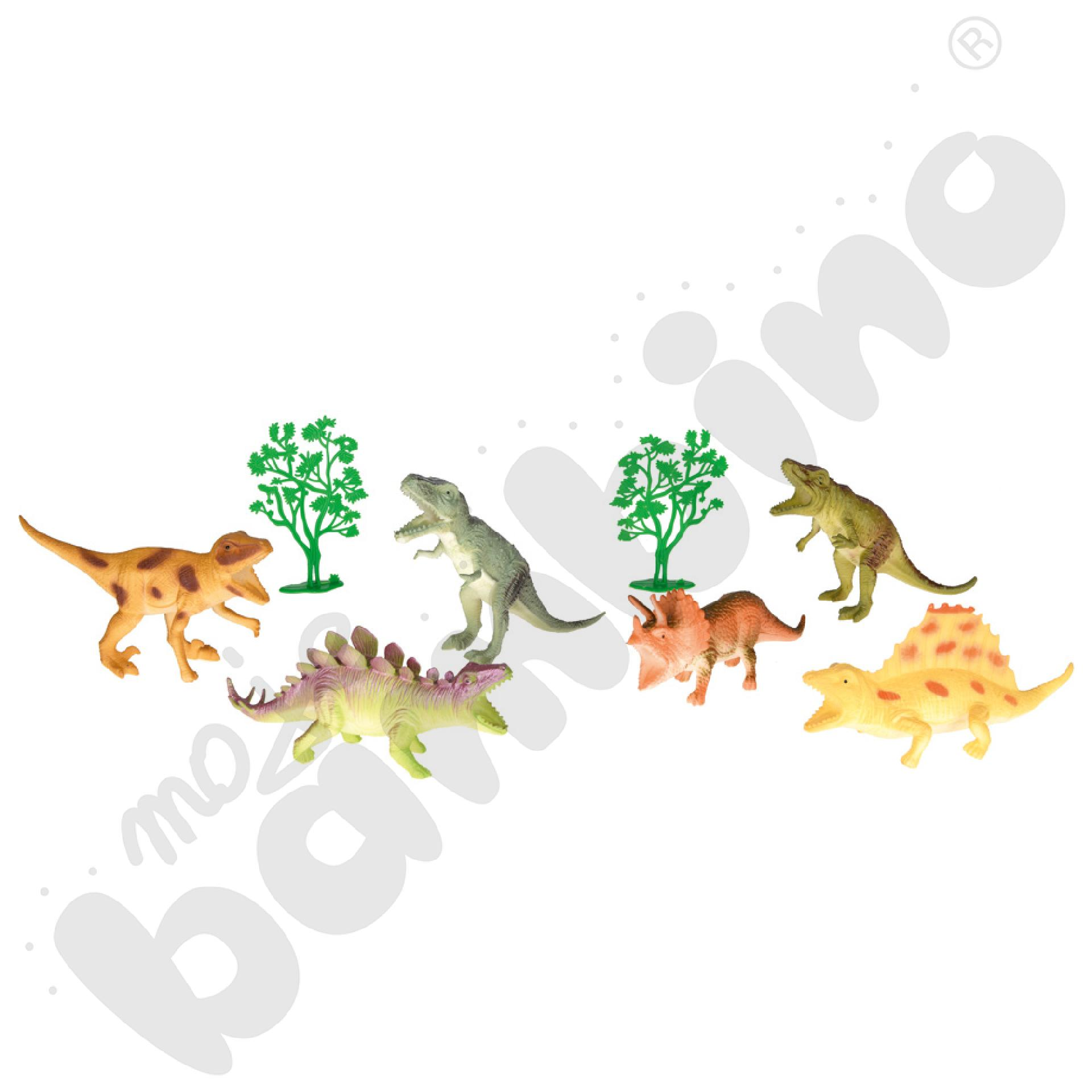 Dinozaury, 6 figurek