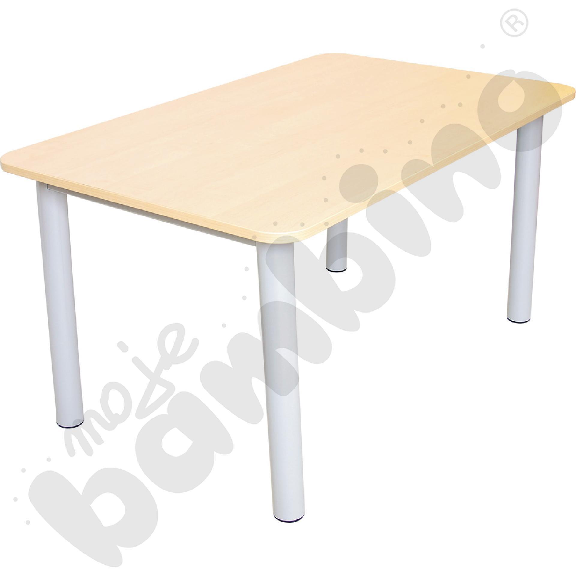 Blat do stołu Premium z brzozowym  obrzeżem