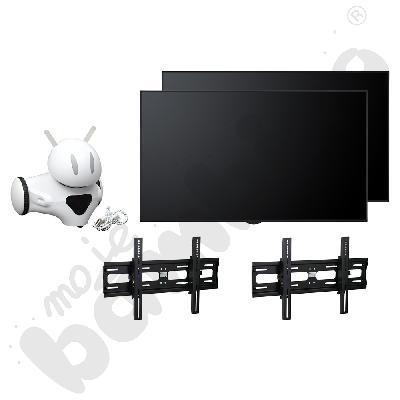 Pakiet: 2 x monitor...