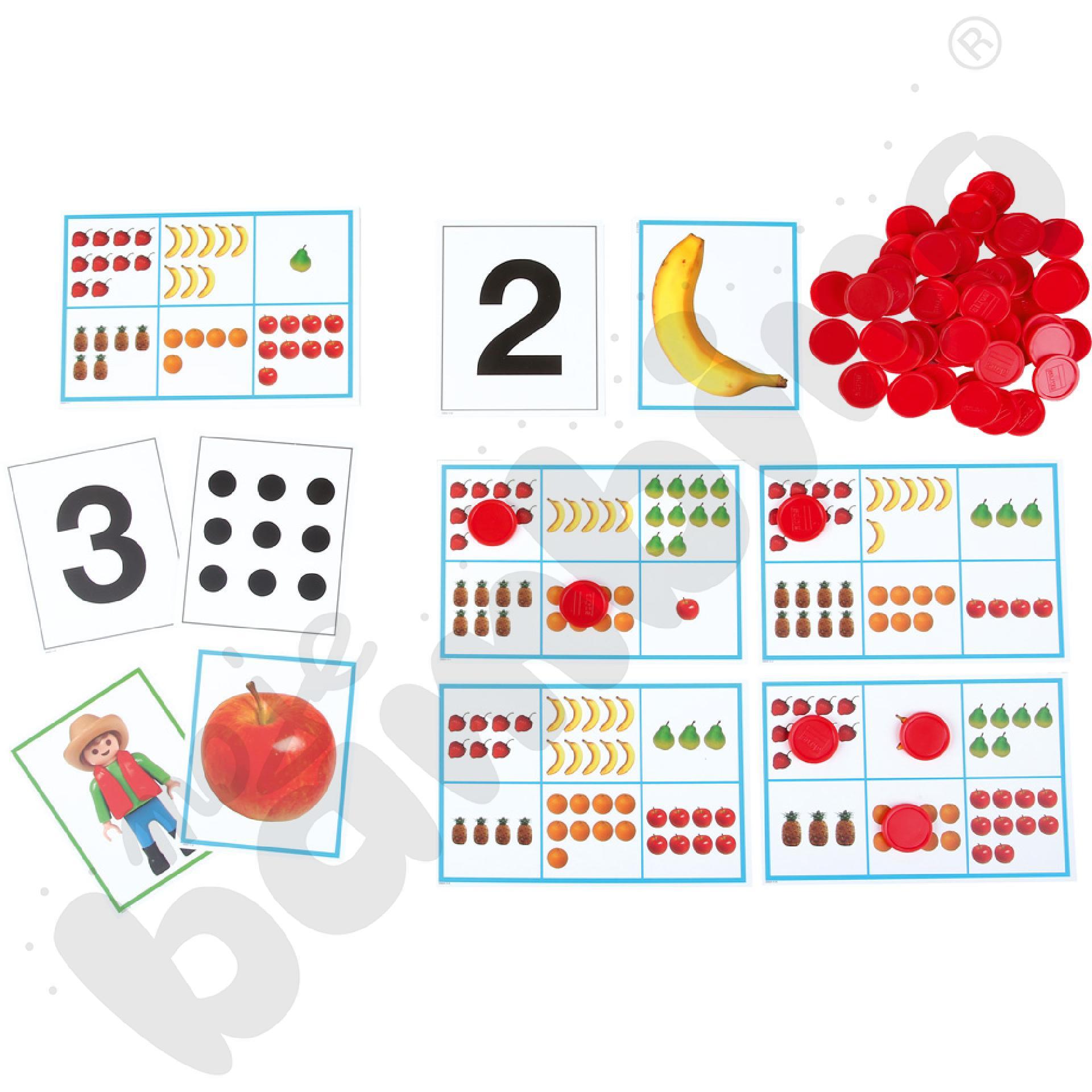 Bingo. Nauka liczenia od 1 do 10.