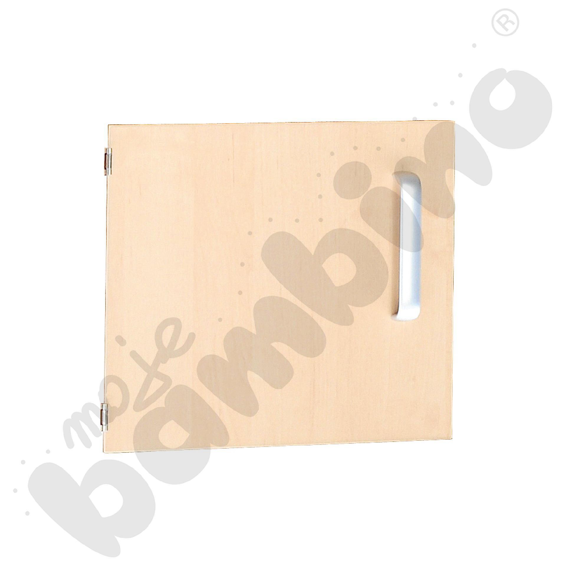 Drzwiczki do szafki M z przegrodą lewe - brzozowe
