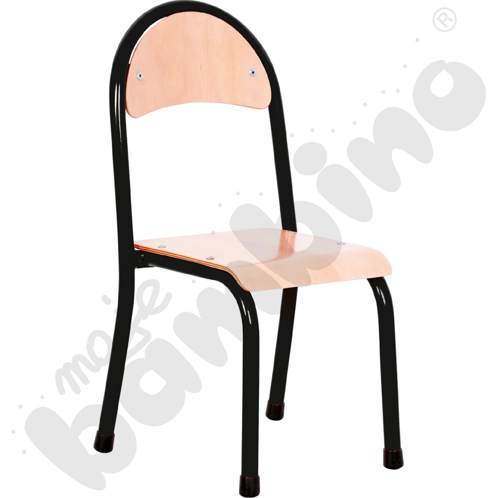 Krzesło P rozm. 1 czarne