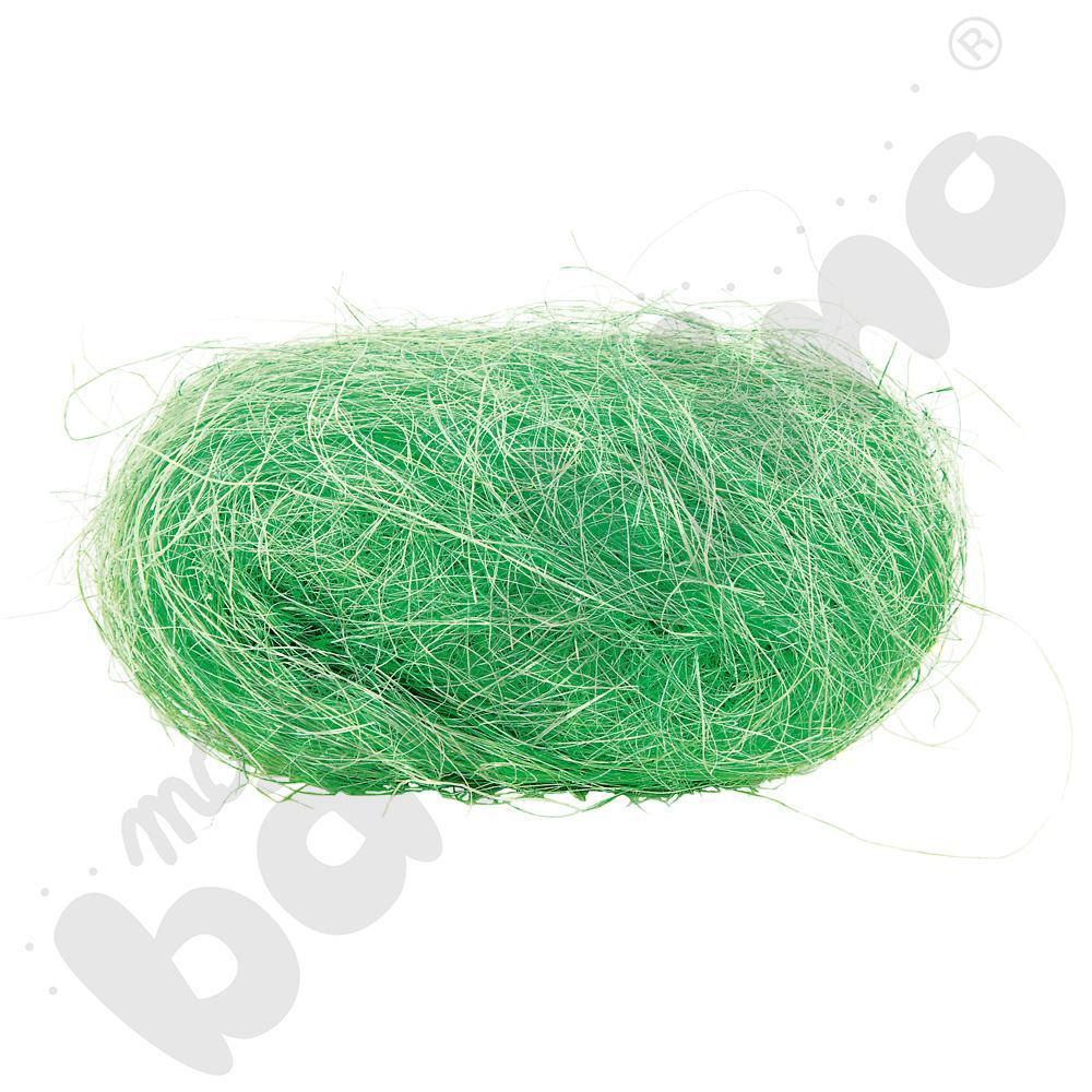 Sizal w motku zielony